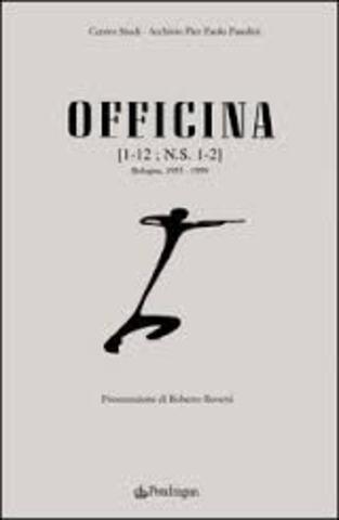 """Fondazione della rivista """"Officina""""."""