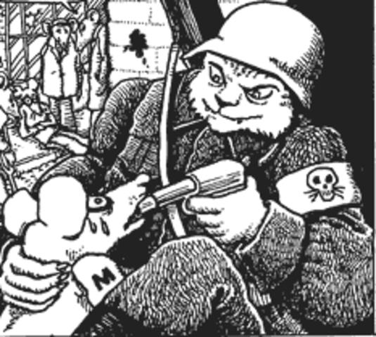 Vladek is taken to be Executed