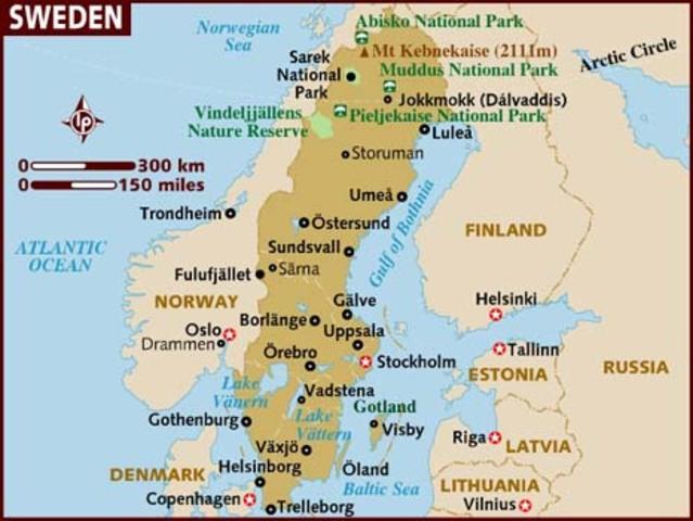 Vladek and Anja go to Sweden