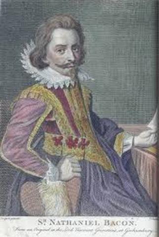 Nathaniel Bacon Leads a Revolt