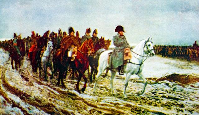 Napoleon invades German lands