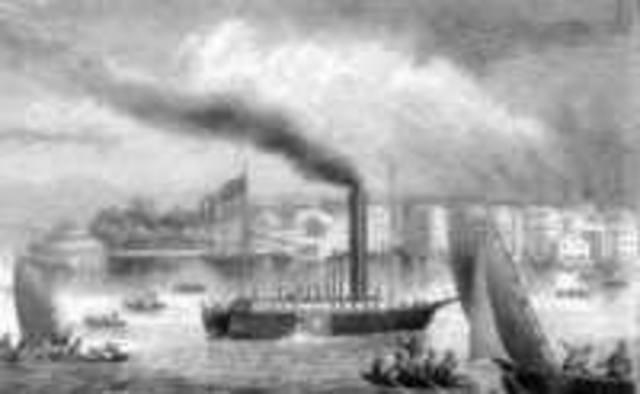 Изобретение парохода