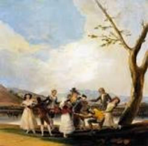 ''La Gallina Ciega'' (Goya)