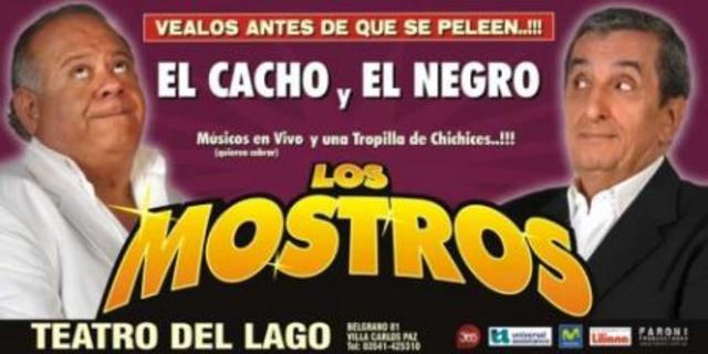 """""""Los mostros""""."""