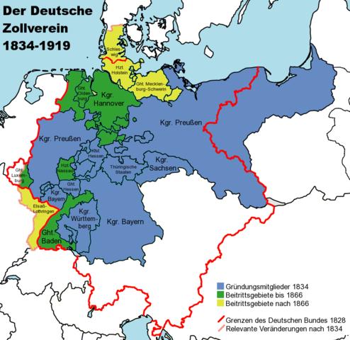 Zollverein is Created