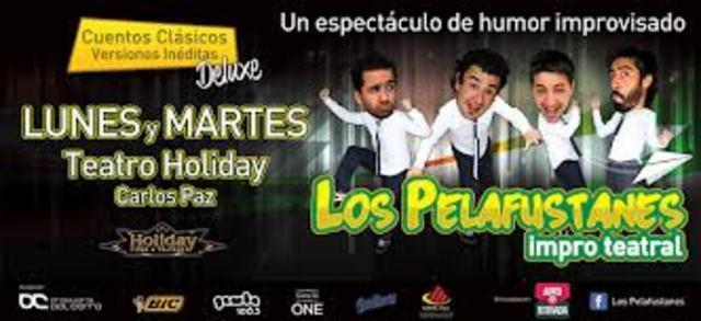 """""""Los Pelafustanes impro""""."""