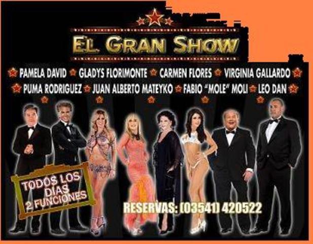 """""""El gran show""""."""