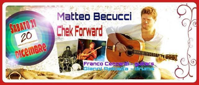 """""""Check Forward"""" live concert @Marina di Cecina (LI)"""