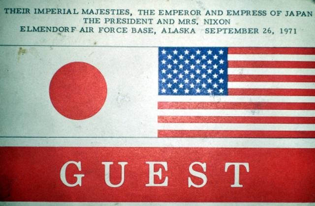 Richard Nixon meets Hirohito