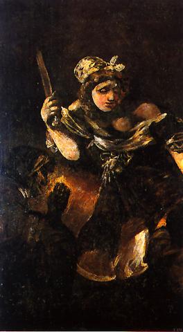 """""""Judith y Holofernes"""" by Goya"""