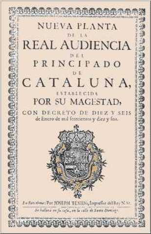 Decrees of the Principality of Catalonia