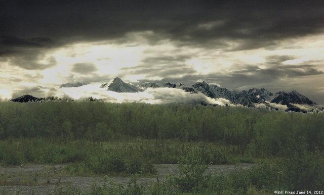 Chugach Mountains 7 AM