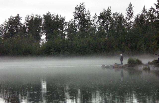 Knik River Dawn