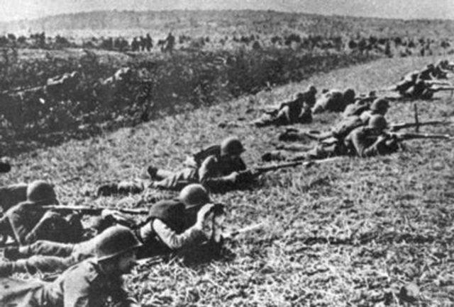 Soviet began an Offensive