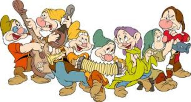 First Animated Movie - Snow White and the Seven Dwarves