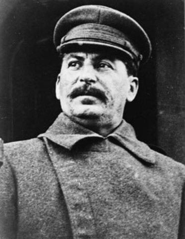 Joseph Stalin Gains Control