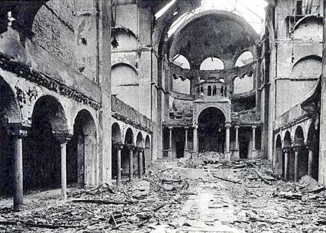 Kristallnacht [November 9-10]