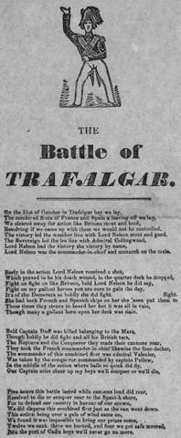 The Spanish Defeat at Trafalgar