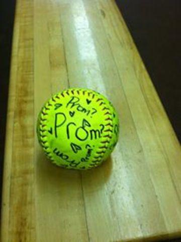 Junior prom proposal