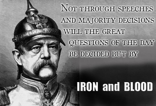 Blood and Iron speech
