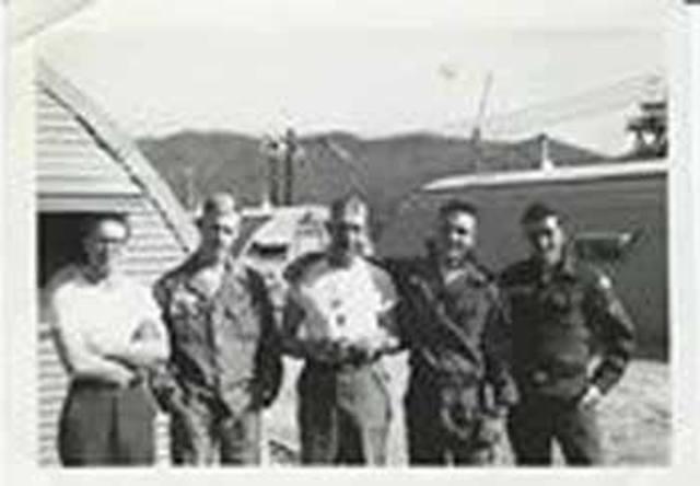 Hootches 1962 with John Zanetti