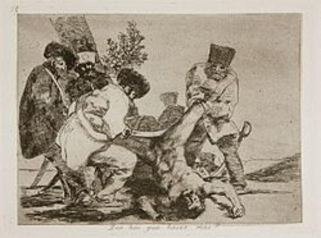 Independence War (Desastres de la Guerra) by Goya