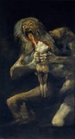 Black Paintings by Goya