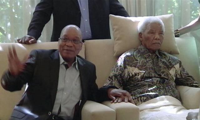 Visita di Zuma