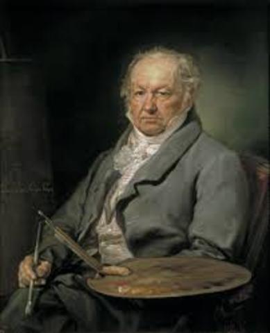 Goya becamed deaf