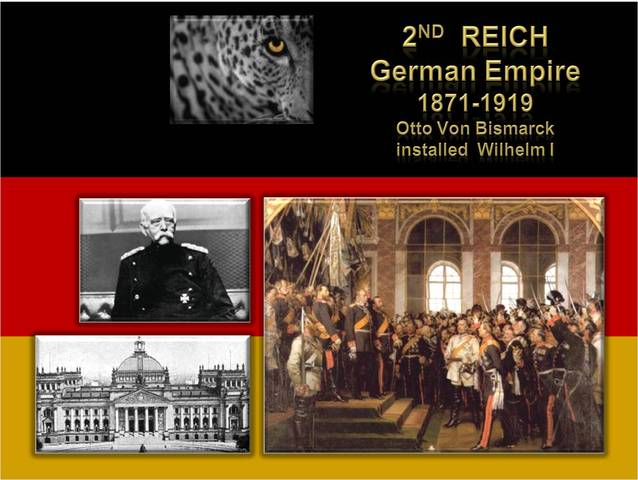 Second Reich is created