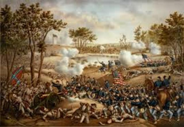 The Battle of Cold Harbor