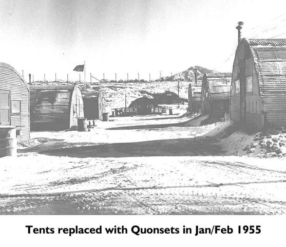 Quonsets - 1955
