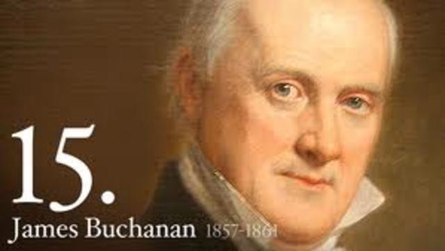 Buchanan becomes president