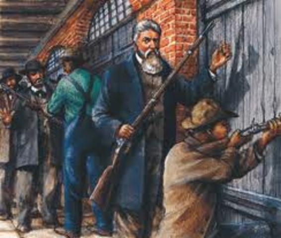 Brown raids Harpers Ferry