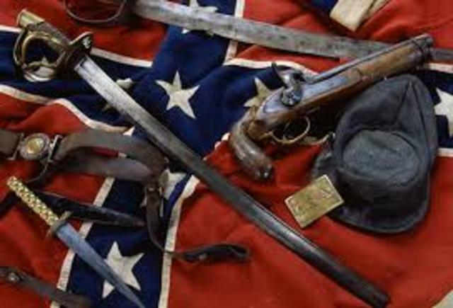 Confederate government formed