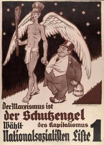 German campaign against the socialists