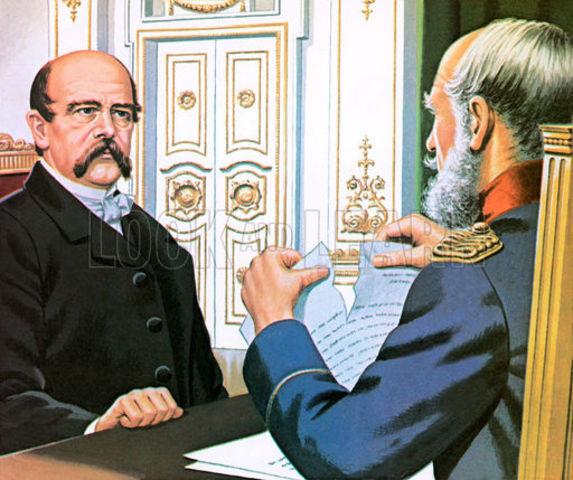 Bismarck becomes Pime Minister