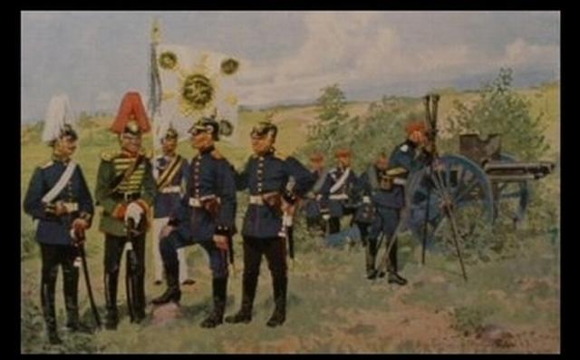 Bismarck declares war on Prussia