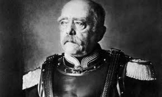 Constitutuon draft by Bismarck