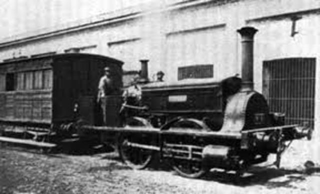 Nacimiento del ferrocarril
