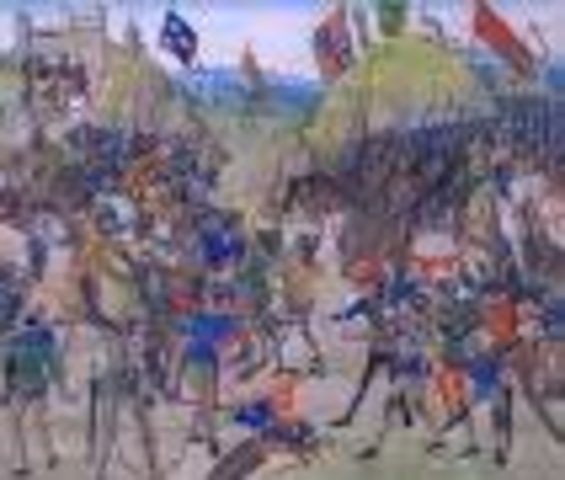 The hundred years war end