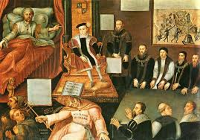 the reformation divides europe