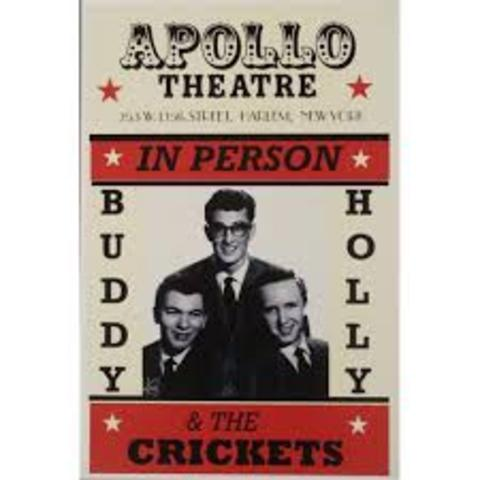 They perform at the Apollo.