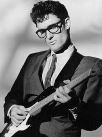 Buddy Holly and the Crickets travel for 6-day tour.