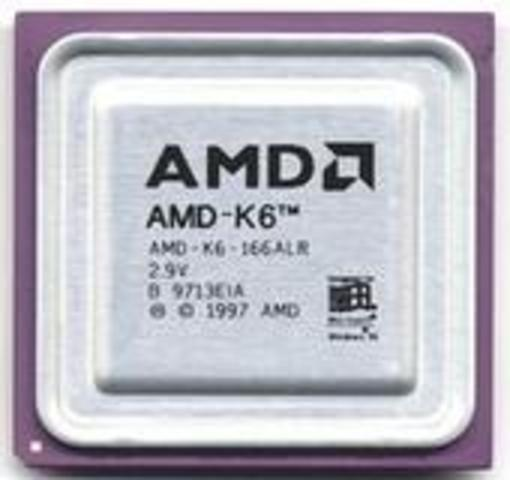 1996: AMD K5, K6 y K6-2
