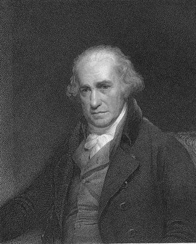 Invention machine à vapeur par James Watt