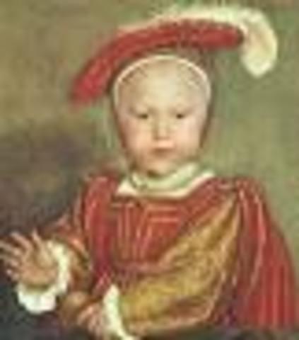 Edward VI is born