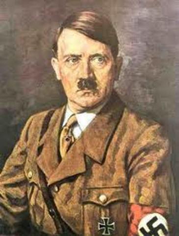 Adolf Hitler's rise to power.