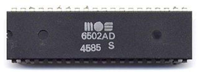MOS 6502 o MOS Technology 6502
