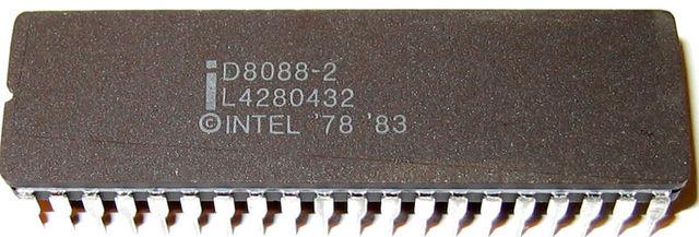 Intel 8086 e Intel 8088